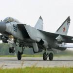 МиГ-31 взорвался сразу после взлёта